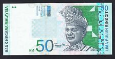 New listing Malaysia 50 Ringgit 1998-01 Au-Unc P. 43, Banknote, Uncirculated