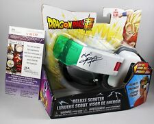 CHRIS SABAT SIGNED VEGETA DRAGON BALL Z DELUXE SCOUTER OVER 9000 ANIME +JSA COA
