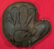 Antique Circa 1900 Wright & Ditson of Canada Catcher's Mitt Baseball Glove Early