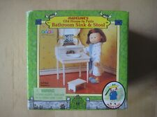 "✯ NEW ✯ Madeline ✯ Bathroom Sink & Stool for 8"" Doll Old House Paris Eden 2000 ✯"