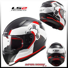 Casco Moto Integrale Touring Ls2 Ff353 Rapid Boho White Black Pink Taglia L