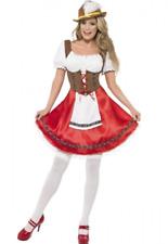 Ladies Octoberfest/Oktoberfest German Beer Festival Costume 12-14 Dress & Hat