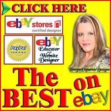 Custom eBay Store Front Design w/ Logo Banner by Certified eBay Stores Designer