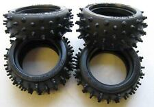 NEW! Part 84281 Tamiya Avante 2011 Hybrid Spike Tires F&R Set of 4 Tyres