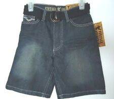 Vintage Eighty 8 Boy's Denim/Jeans Shorts with Belt - Size 4