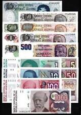 Argentine - Argentina lot de 15 billets différents neufs UNC