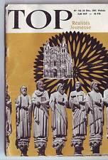 top réalités jeunesse - 162 / decembre 1961