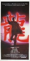 YEAR OF THE DRAGON ORIGINAL CINEMA RELEASE DAYBILL MOVIE POSTER