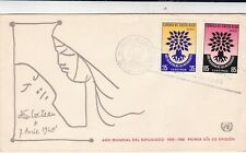 More details for costa rica 1960 refugee year fdc special cancel vgc unaddressed