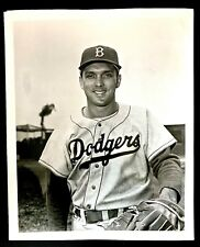 1950'S BROOKLYN DODGERS CARL ERSKINE 1ST GENERATION DODGERS TEAM FILE PHOTO