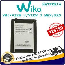 WIKO Batteria Litio Per WIKO Y80 W_V720 / VIEW 3 W-P311 / VIEW 3 PRO / VIEW MAX