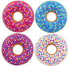 1 EXTRA LARGE JUMBO INFLATABLE DONUT WITH SPRINKLES POOL RAFT FLOAT INFLATE 32