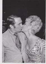 Vintage Press Photograph - MITZI GAYNOR & JACK BEAN - YANI BEGAKIS PHOTO