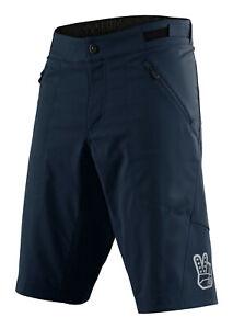Troy Lee Designs Mens Skyline Shorts SHELL No-Liner - Marine - MTB/Bicycle