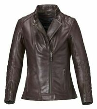 Triumph Ladies Andorra Motorcycle Leather Jacket XXL