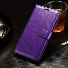 Luxury Leather Magnetic Flip Wallet Case Stand Cover For Various Mobile Phones