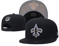 NEW ERA 9FIFTY SNAPBACK NFL New Orleans Saints ADULT BLACK