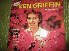 33RPM Vintage Vinyl KEN GRIFFIN At The Organ 402