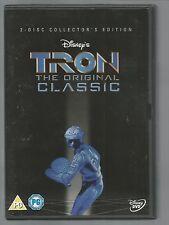 TRON - The Original Disney Classic - UK R2 DVD (2-DISC COLLECTOR'S EDITION) vgc