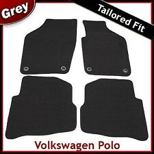 Volkswagen VW Polo Tailored Fitted Carpet Car Mats GREY (2006 2007 2008 2009)