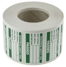 Seaward 339A318 PAT Testing Label, For Use With Portable Appliance Testers