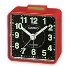 Reloj despertador Casio tq-140-1 - Cuarzo Rojo - Nuevo