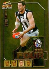 2011 Select AFL Champions Fab Four Gold Card FFG15 Darren Jolly (Collingwood)