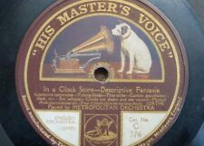 "78rpm 12"" METROPOLITAN ORCHESTRA in a clock store / a hunt in the black forest"