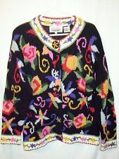 Women's Cardigan  Sweater  The Import Workshop   Button Up    Size M