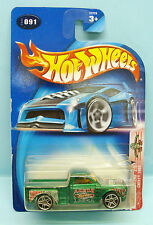 1793 HOT WHEELS / CARTE US / RADICAL WRESTLERS 2002 / CHEVY PICK UP 1969 1/64