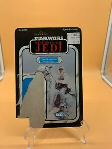 1983 Vintage Kenner Star Wars Luke Skywalker ROTJ 65 Card Back RARE