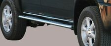 PEDANE POGGIAPIEDI OVALI , OVAL SIDE BAR WITH STEPS , PER ISUZU D-MAX D.C. '07 >