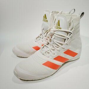 ADIDAS  Men's Speedex 18 Boxing Shoes Bright Solar Red Size 7  FU8173
