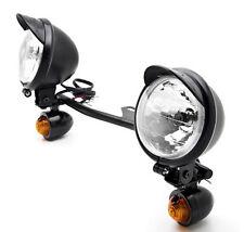 Passing Spot Light Driving Turn Signals Lamp Bar For Harley Davidson Suzuki