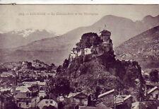 CPA 65 Hautes PYRENES Près Argelès-Gazost LOURDES Vue sur le Château-fort 1931