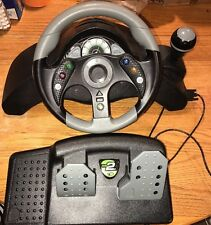 Great! MAD CATZ MC2 XBOX 360 Wired Racing Wheel Pedals Force Feedback Tested