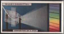 Composition of Stars Solar System Astronomy  c90 Y/O Trade Ad Card