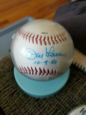 New listing Don Larsen Signed Baseball Autograph New York Yankees SP Perfect Game NYY