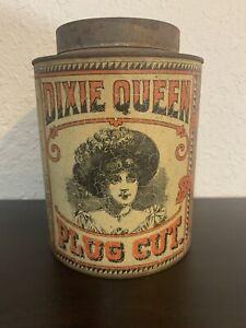 Dixie Queen Plug Cut Tobacco Tin