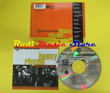 CD HEAVY RHYME EXPERIENCE compilation GANG STARR KOOL G. RAP no lp mc dvd (C15)