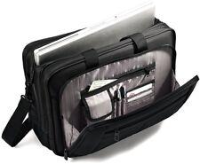 Samsonite Classic Briefcase 3 Gusset Toploader Business Case Black Carrying Bag