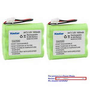 Kastar 3.6V Ni-MH 1600mAh Battery Replace for Panasonic KX-TD7894 KX-TD7895