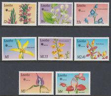 Lesotho 1990 ** mi.834/41 plantas plants flores Flowers expo [st2674]