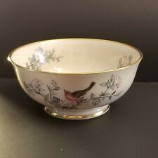 "Lenox ""Serenade"" Decorated Ivory Porcelain Bowl * Free Usa Shipping * No Reserve"