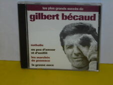 CD - GILBERT BECAUD - LES PLUS GRANDS SUCCES DE