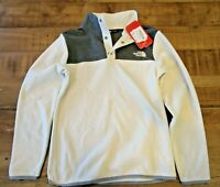 The North Face Girls' Glacier Quarter Snap Fleece Jacket Size Large