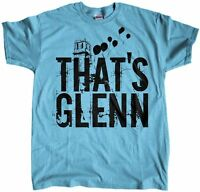 Men's That's Glenn Rhee The Walking Dead Regular Fit T-Shirt