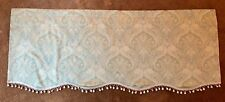 ECHO Cotton Window Valance Green Paisley