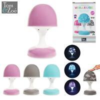 Veilleuse Tactile Lampe Enfant Champignon LED Projection étoile - LA9577