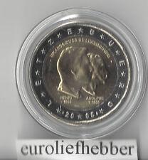 Luxemburg   2 Euro Commemorative 2005   Henri & Adolphe  UNC.